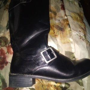 Lifestride boots black size 71/2